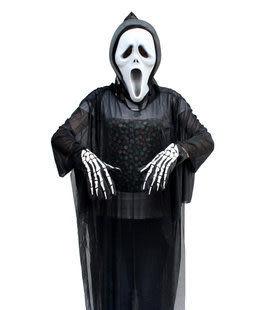 大人全黑鬼衣服或面具