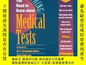 二手書博民逛書店Everything罕見You Need to Know about Medical Tests-關於醫學測試你需