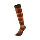 [Mont-Bell] (女) Merinowool Merinowool High Socks 羊毛緹花及膝襪 棕 (1108768BN)