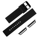 Apple Watch / 38.40.42.44mm / 蘋果手錶替用錶帶 蘋果錶帶 輕便運動型 矽膠錶帶 黑色 #804-11-BKB
