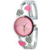 流行女錶 正韓心型新品手錶中學生時尚手鍊手鐲錶石英錶防水糖果色女錶 【降價兩天】