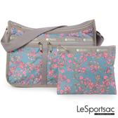 LeSportsac - Standard雙口袋A4大書包-附化妝包 (雷麗蘭/青碧色) 7507P F428