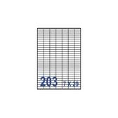 裕德  U2609  電腦列印標籤203格30X10mm-100張入 / 包