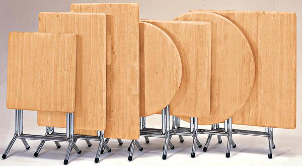 【森可家居】2x3尺實木桌(單只-編號5) 7JX244-12