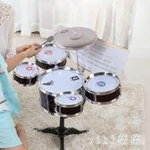 爵士鼓 架子鼓兒童玩具寶寶初學者音樂玩具敲樂器早教益智男女孩3-6周歲 CP4980【VIKI菈菈】