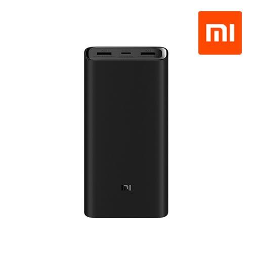 含保護套 MI 小米 20000mAh 高配版行動電源 3 行動充 隨身充 重複充電 行動電源 輕薄 筆電 充電