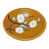 創意個性實木水果盤復古簡約客廳家用茶几糖果干果中式木質小果盤【全館免運】