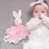 新生哄睡玩具寶寶安撫巾可入口0-1玩偶嬰兒手偶睡覺安撫娃娃 全館新品85折 YTL