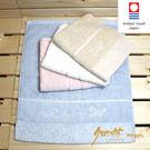 CR玫瑰園方巾 粉