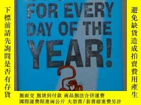 二手書博民逛書店原版罕見A Puzzle for Every Day of th