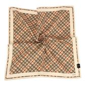 DAKS 圓點印紋純綿帕領巾(米駝色)989108-139