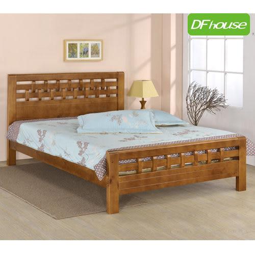 《DFhouse》賈斯汀3.5尺實木單人床- 單人床 雙人床 床架 床組 實木 床俱 臥室 居家 生活起居 透氣