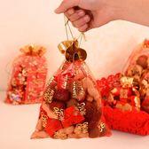 【50枚入】喜糖袋紗袋結婚糖果袋子回禮裝【奇趣小屋】