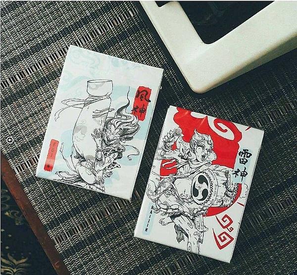 【BOMB 撲克】風神雷神.Fujin & Raijin 撲克 藍色/紅色