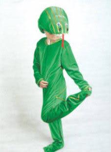 十二生肖蛇兒童動物演出服裝套裝