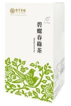 台灣農林 碧螺春綠茶(立體茶包) 2.5gx20入/盒
