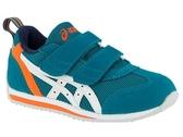 【胖媛的店】ASICS (中童鞋) 學步鞋 IDAHO MINI 3 慢跑鞋 魔鬼氈 TUM186-300 藍綠