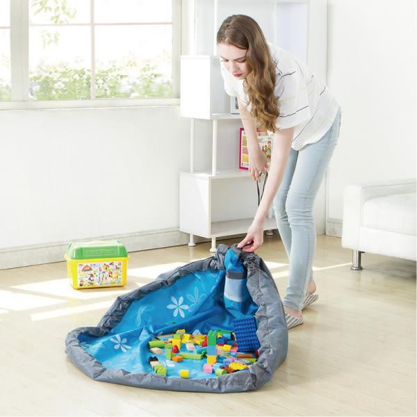 兒童玩具快速收納袋 玩具袋【櫻桃飾品】【26751】