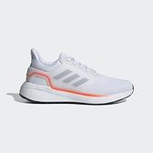 Adidas EQ19 RUN 男款白色運動慢跑鞋-NO.H00927