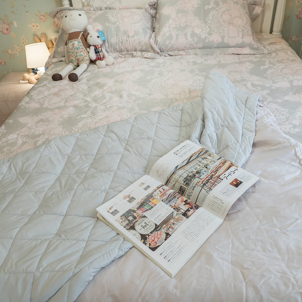 天絲 涼被乙件(5X6尺) 100%天絲 台灣製造 棉床本舖