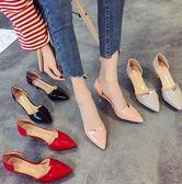 618好康鉅惠婚鞋伴娘鞋細跟尖頭高跟鞋女