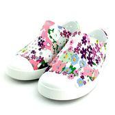小童 Native JEFFERSON PRINT 防水 懶人 洞洞鞋《7+1童鞋》6053 白色