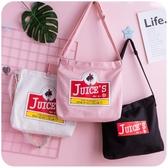 韓版 帆布包包女單肩包大學生上課原宿斜挎袋中包手提包