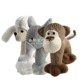 磨牙棒 寵物玩具狗狗貓咪亞麻發聲陪伴玩具泰迪貴賓雪納瑞小型犬類玩具   歐韓流行館