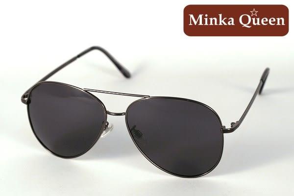 Minka Queen 太陽的後裔 帥氣黑框激似款(抗UV400鏡片)時尚個性雷朋偏光太陽眼鏡