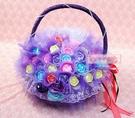 一定要幸福哦~~玫瑰花香皂花棒(10支150元)~婚禮小物、結婚宴客、二次進場