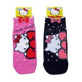 non-no儂儂褲襪《5入》日本製三麗鷗女短襪(大蝴蝶結kitty)3713-208