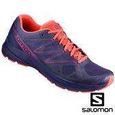 【SALOMON 法國】女 SONIC PRO 2跑鞋『氣質紫/珊瑚紅/葡萄紫』393391 多功能鞋.健行鞋.登山鞋