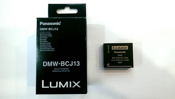 國際 Panasonic DMW-BCJ13 原廠鋰電池 全新【完整盒裝】