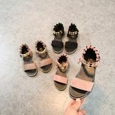 女童涼鞋夏季新款女孩兒童公主鞋小孩女童羅馬鞋夏中大童