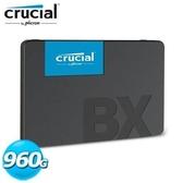 全新 美光 Micron Crucial BX500 960GB  SSD 固態硬碟