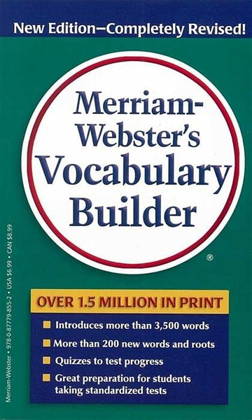 (二手書)Merriam-webster's Vocabulary Builder New Edition-Completely Revi..