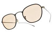 OLIVER PEOPLES 太陽眼鏡 EOIN 5290 (黑銅-棕鏡片) 拚色復古圓框款 墨鏡 # 金橘眼鏡
