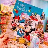 正版授權 迪士尼精裝卡片 米奇米妮黛西唐老鴨高飛狗 大卡片 萬用卡片 生日卡片 COCOS DA032