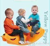 兒童木馬丹麥進口DANTOY三人木馬搖馬塑料搖滾小鱷魚兒童玩具3歲寶寶禮物 Igo免運