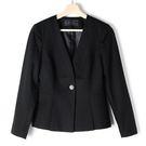 【MASTINA】短版西裝外套-黑 好康...