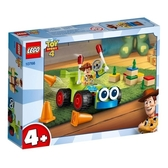 【LEGO樂高】JUNIORS 玩具總動員4 TOY STORY4 胡迪&RC #10766