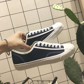 方少港風男裝夏季男鞋新帆布鞋透氣學生板鞋運動鞋潮鞋低筒小白鞋