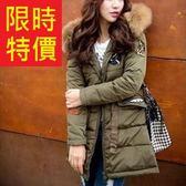 羽絨外套 品味日系-與眾不同時尚典雅禦寒女夾克4色61aa330[巴黎精品]