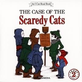 〈汪培珽英文書單〉〈An I Can Read系列:Level 2)  THE CASE OF THE SCAREDY CATS / (單CD)