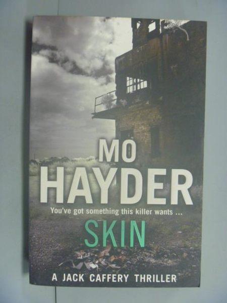 【書寶二手書T3/原文小說_LNY】Skin_Mo Hayder