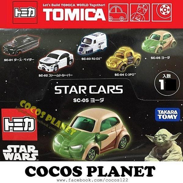TOMICA 多美小汽車 STAR WARS 星際大戰 尤達大師 迪士尼夢幻小車 小汽車 COCOS TW185