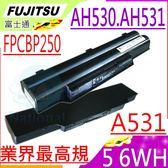 FUJITSU 電池-富士 電池 LifeBook A531,AH530,AH531,Fpcbp250 FMVNBP186,FMVNBP189,S26391F495-L100,FPCBP250AP