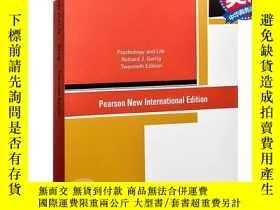 全新書博民逛書店心理學與生活英文原版 Psychology and Life R