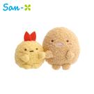 【日本正版】角落生物 炸蝦與豬排 迷你沙包玩偶 沙包娃娃 絨毛玩偶 娃娃 角落小夥伴 San-X 760836