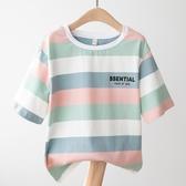 女童短袖T恤2020夏裝夏季兒童洋氣韓版中大童潮寬鬆童裝純棉上衣
